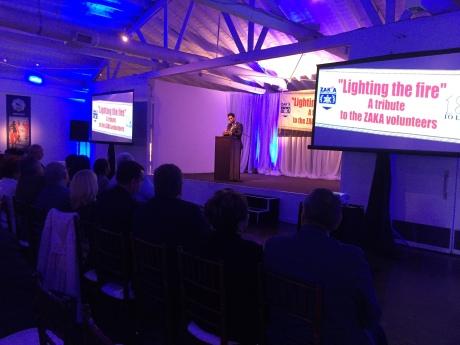 Lag Baomer event honoring ZAKA volunteers