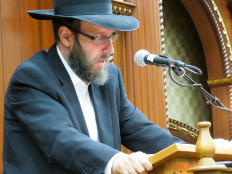 Harav Shmuel Fasman, son and Associate Rosh Kollel, Kollel Los Angeles. Photos: Arye D. Gordon