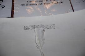 Gordon - starting the Sefer Torah