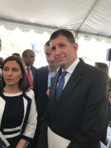 Consul General for Israel Sam Grundwerg with MK Gila Gamliel
