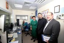 Visit of Zvi Yechezkeli at Ryzman Family Invasive Cardiology Center, Laniado Hospital March 2017