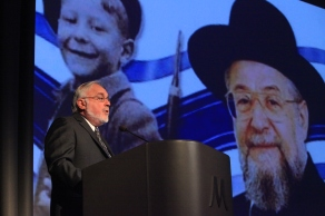 Rabbi Abraham Cooper, Associate Dean of the Wiesenthal Center