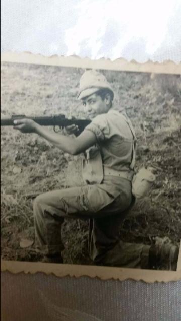 David in pre-military training