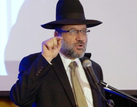 Rabbi David Akhamzadeh of Beit Knesset Ohr HaEmet