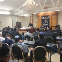 Rav Binyamin Cohen Delivers Five Shiurim at LINK Kollel