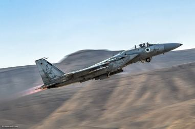 An Israeli F-15
