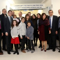 Dedicating the Zvi and Betty Ryzman Family Intensive Care Unit