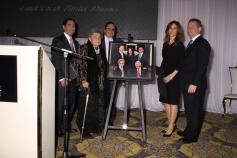 Dubby Teichman, Dorothy Greenstein, Rabbi Mordechai Shifman, Dorit and Alan Teichman. Photos: Moshe Steinberg