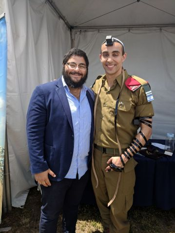 IAC - Chabad Israel Center Tefillin booth 3