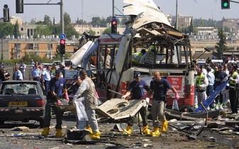 bus bombing in yerushalayim during the second intifada