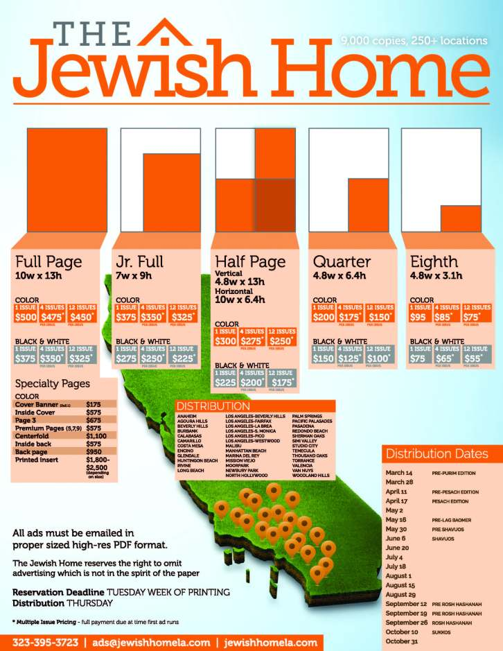 LAJH Rate Sheet